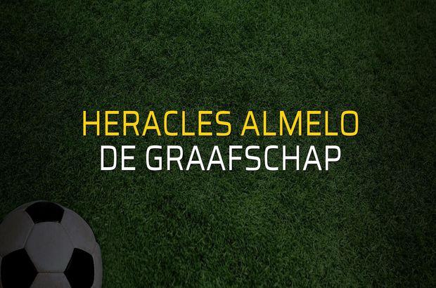 Heracles Almelo - De Graafschap karşılaşma önü