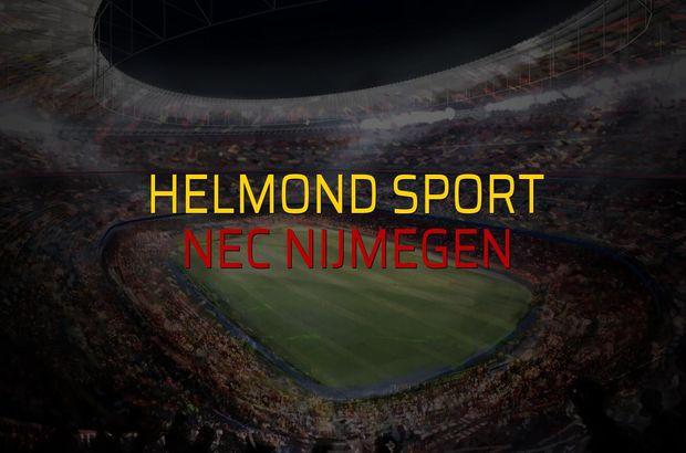 Helmond Sport - Nec Nijmegen düellosu