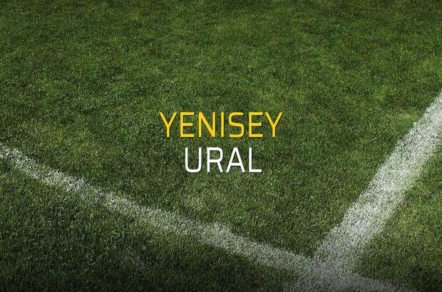 Yenisey - Ural maçı ne zaman?