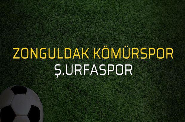Zonguldak Kömürspor - Ş.Urfaspor maç önü