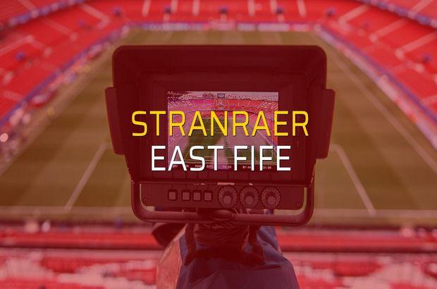 Stranraer - East Fife düellosu
