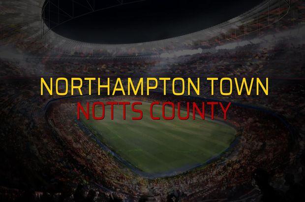 Northampton Town - Notts County maçı öncesi rakamlar