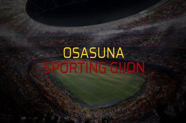 Osasuna - Sporting Gijon maçı heyecanı