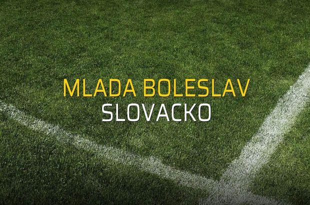 Mlada Boleslav - Slovacko düellosu