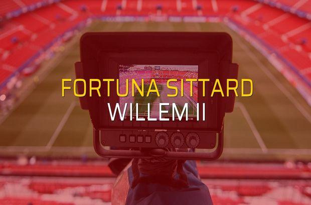Fortuna Sittard - Willem II sahaya çıkıyor