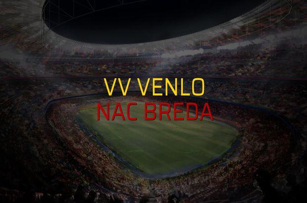 VV Venlo - Nac Breda maçı rakamları