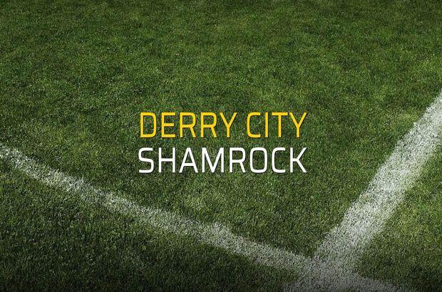 Derry City - Shamrock maçı rakamları