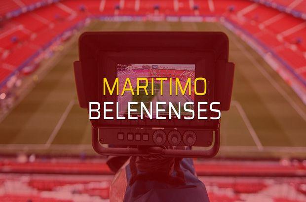Maritimo - Belenenses maçı ne zaman?