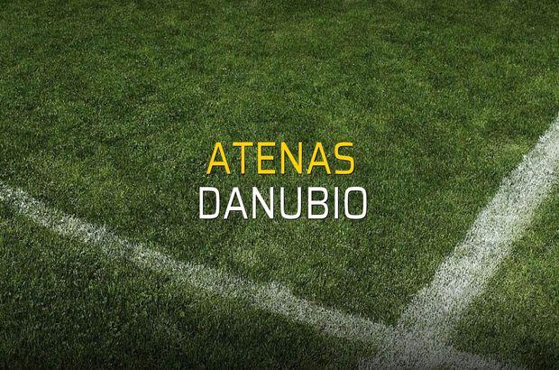 Atenas - Danubio maçı istatistikleri