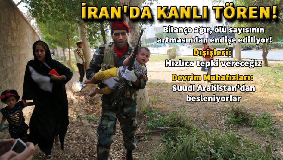İranda askeri törene silahlı saldırı!