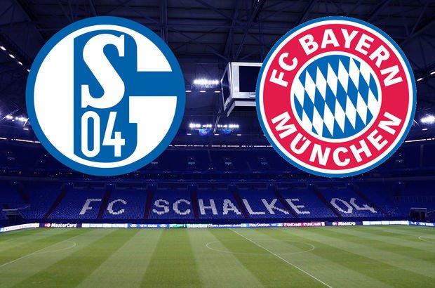 Schalke - Bayern Münih maçı