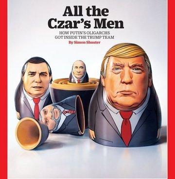 Time'dan imalı kapak: Çarın tüm adamları!