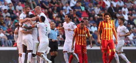 Kayseri'de gülen taraf Konyaspor oldu!