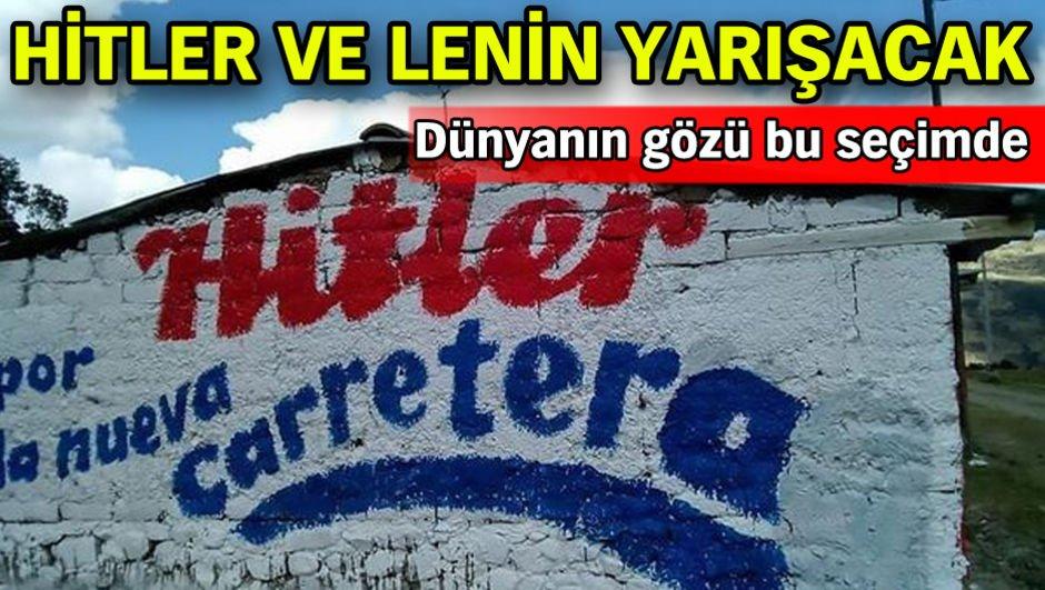 Hitler ve Lenin yarışacak!