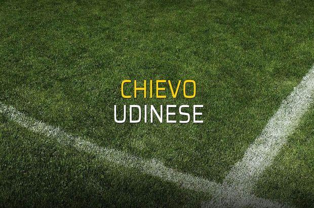 Chievo - Udinese düellosu