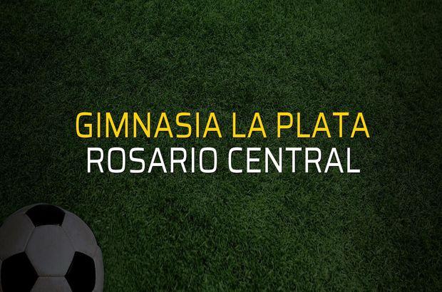 Gimnasia La Plata - Rosario Central sahaya çıkıyor