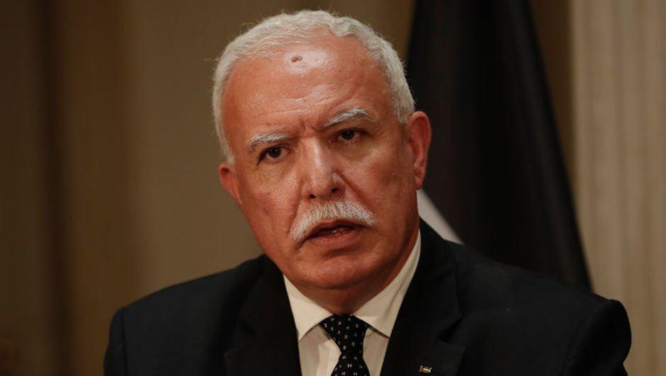 """Filistin Dışişleri Bakanı'ndan """"ABD'li hiçbir yetkiliyle görüşmedik"""" açıklaması"""