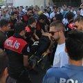 Beşiktaş'ta korkutan kaza: 2 polis yaralı