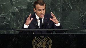 Macron'a destek yüzde 29'a düştü!