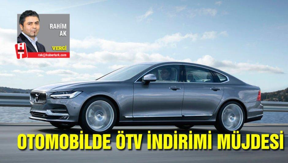 Otomobilde ÖTV indirimi müjdesi