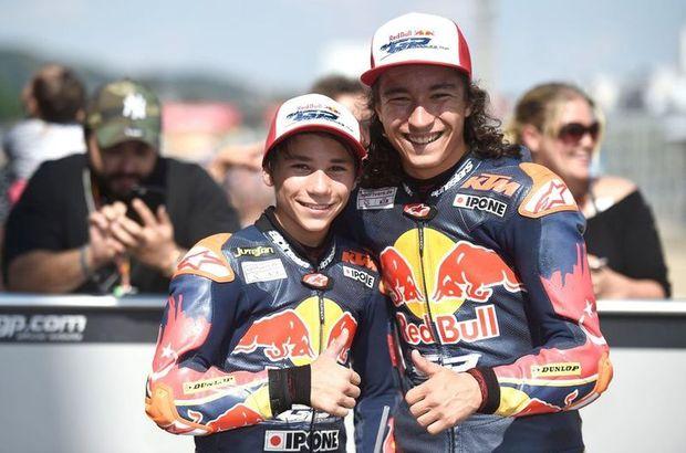 Can Öncü Deniz Öncü Red Bull MotoGP Çaylaklar Kupası