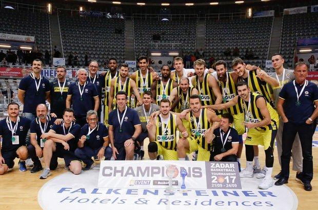 Fenerbahçe 4. kez şampiyon!