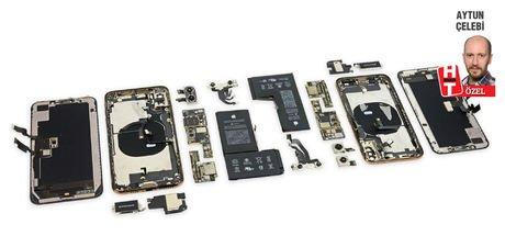Yeni iPhone'ları parçaladılar! İşte Apple'ın sırları...