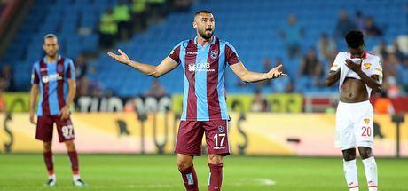 Trabzonspor'da tablo değişmedi