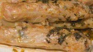 Kıymalı lahana sarması tarifi ve lahana sarmasının kalorisi...
