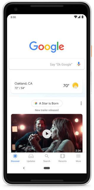 Google arama motoru baştan aşağı yenileniyor