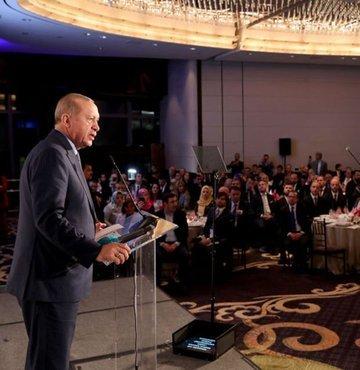 Cumhurbaşkanı Erdoğan'dan ABD'de kritik mesajlar!