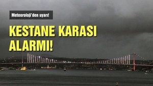 İstanbul'da karakış alarmı!