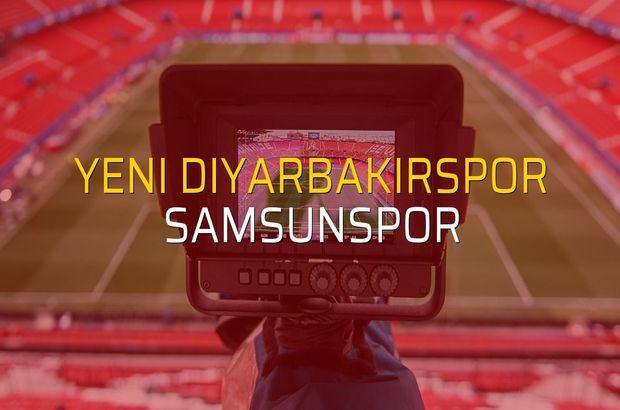 Yeni Diyarbakırspor - Samsunspor maçı heyecanı