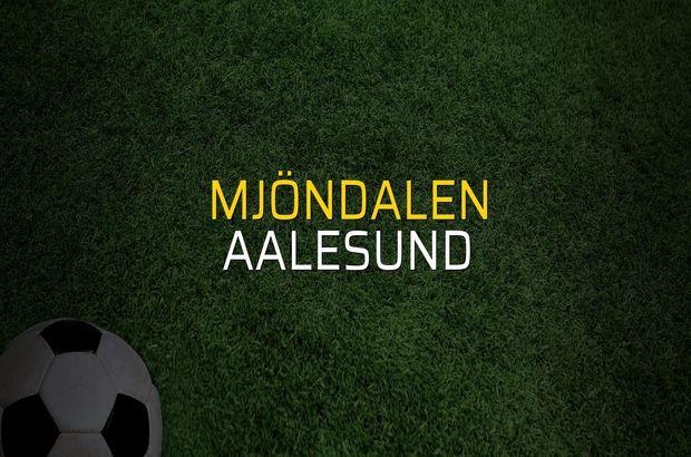 Mjöndalen - Aalesund rakamlar