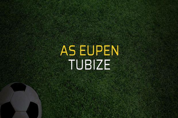AS Eupen - Tubize maçı rakamları
