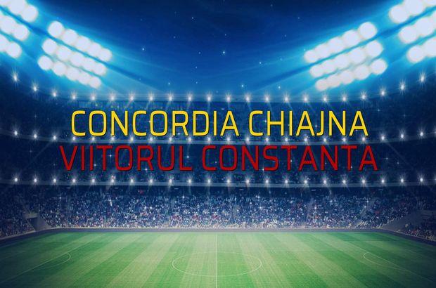 Concordia Chiajna - Viitorul Constanta rakamlar