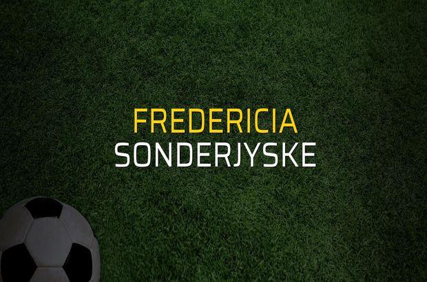 Fredericia - SonderjyskE karşılaşma önü
