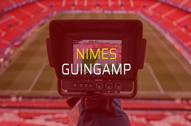 Nimes - Guingamp rakamlar
