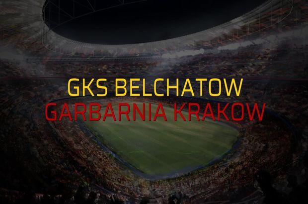 GKS Belchatow - Garbarnia Krakow maçı rakamları