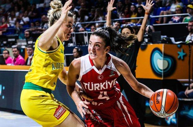A Milli Kadın Basketbol Takımı 2018 FIBA Dünya Kupası  Fransa