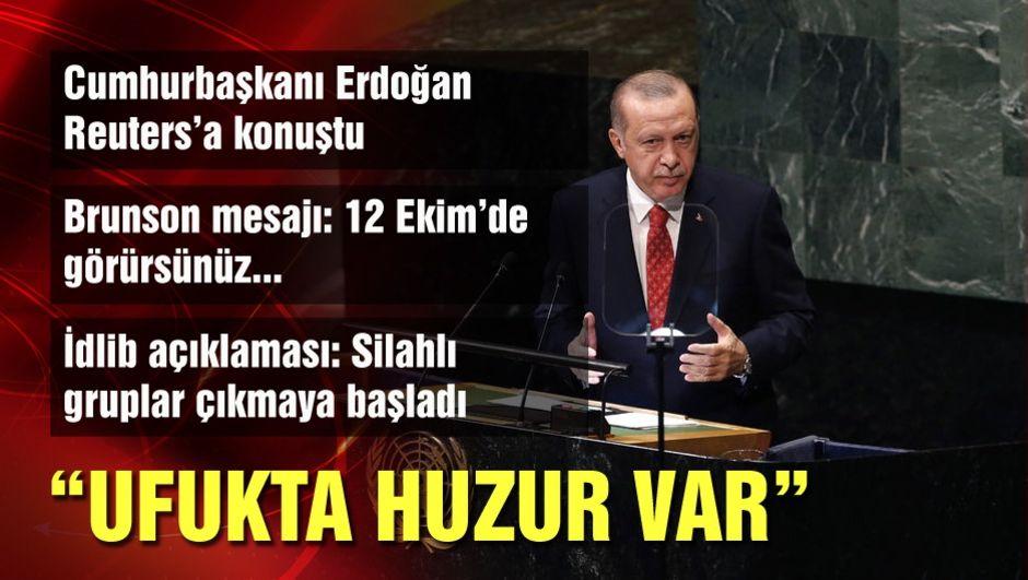 Cumhurbaşkanı Erdoğan'dan ABD'de Brunson sorularına yanıt!