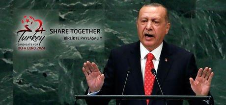 Cumhurbaşkanı Erdoğan'dan EURO 2024 açıklaması