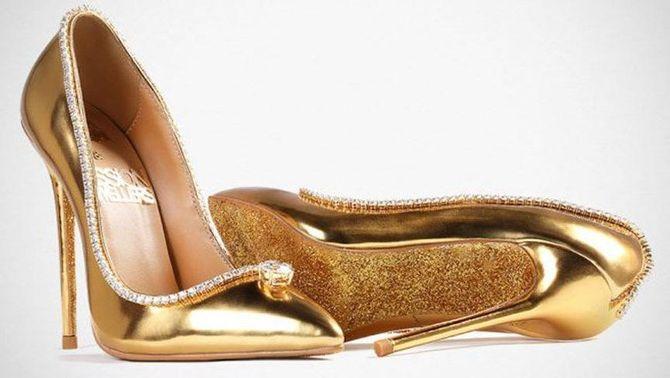 Dünyanın en pahalı ayakkabısı: The Passion Diamond