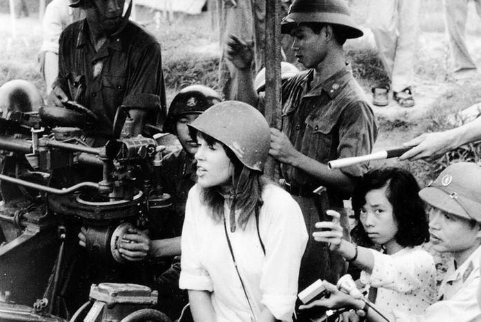 Jane Fonda Hanoi'de.