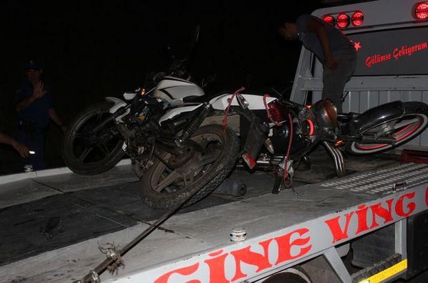 Aydın motosiklet kazası