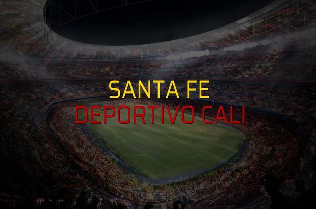 Santa Fe - Deportivo Cali maçı ne zaman?