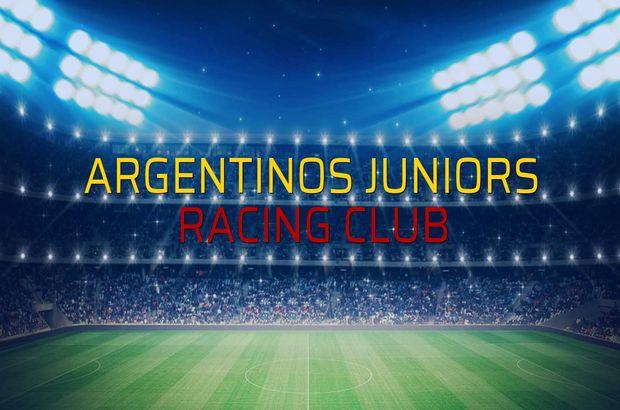 Argentinos Juniors - Racing Club maç önü