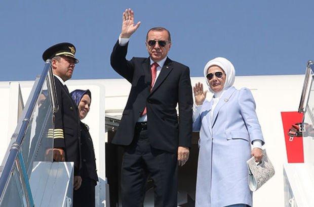 Cumhurbaşkanı Erdoğan yurda dönüyor!