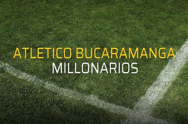 Atletico Bucaramanga - Millonarios düellosu