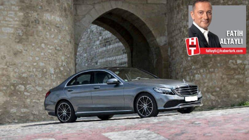 Mercedes C serisi Fatih Altaylı test